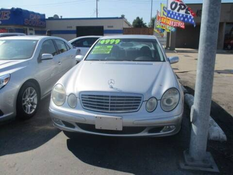 2003 Mercedes-Benz E-Class for sale at Car One - CAR SOURCE OKC in Oklahoma City OK