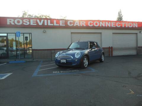 2007 MINI Cooper for sale at ROSEVILLE CAR CONNECTION in Roseville CA