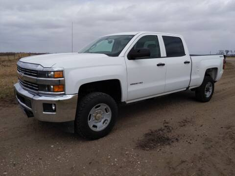 2017 Chevrolet Silverado 2500HD for sale at HALVORSON AUTO in Cooperstown ND