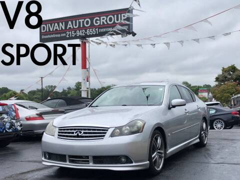 2006 Infiniti M45 for sale at Divan Auto Group in Feasterville Trevose PA