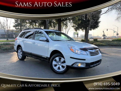 2011 Subaru Outback for sale at Sams Auto Sales in North Highlands CA