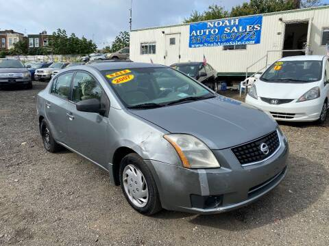 2007 Nissan Sentra for sale at Noah Auto Sales in Philadelphia PA