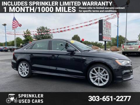 2015 Audi A3 for sale at Sprinkler Used Cars in Longmont CO