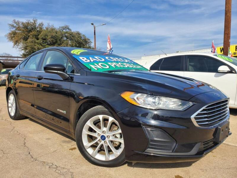 2019 Ford Fusion Hybrid for sale in Garland, TX