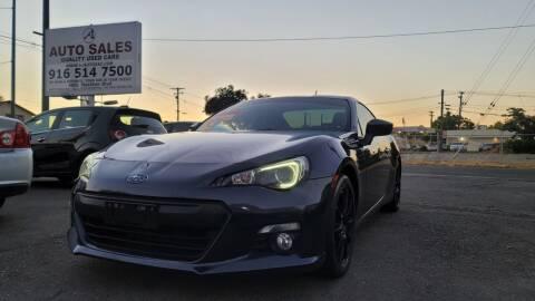 2013 Subaru BRZ for sale at A1 Auto Sales in Sacramento CA