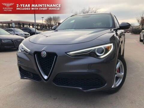 2018 Alfa Romeo Stelvio for sale at European Motors Inc in Plano TX