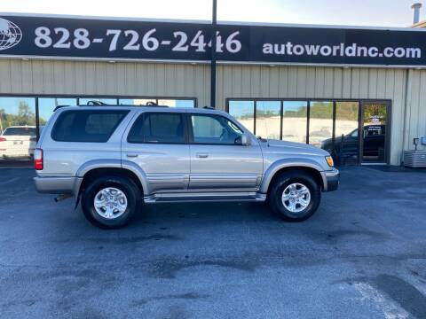 2001 Toyota 4Runner for sale at AutoWorld of Lenoir in Lenoir NC