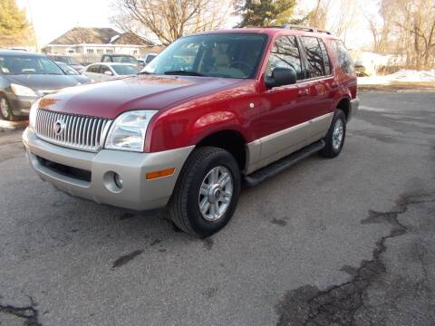 2004 Mercury Mountaineer for sale at Jenison Auto Sales in Jenison MI