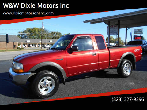1999 Ford Ranger for sale at W&W Dixie Motors Inc in Hickory NC