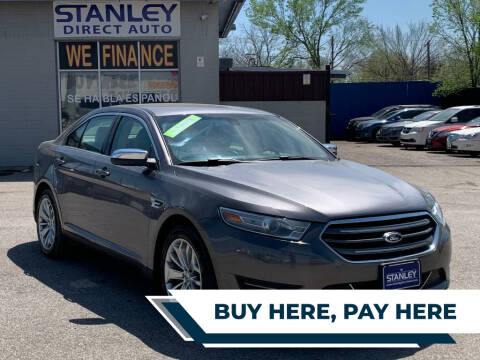 2013 Ford Taurus for sale at Stanley Direct Auto in Mesquite TX