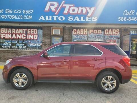 2010 Chevrolet Equinox for sale at R Tony Auto Sales in Clinton Township MI