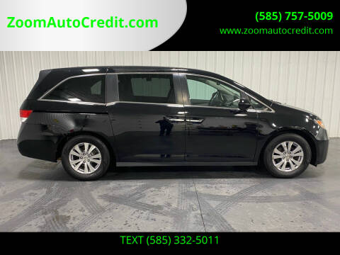 2015 Honda Odyssey for sale at ZoomAutoCredit.com in Elba NY