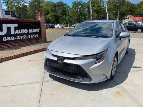 2020 Toyota Corolla for sale at J T Auto Group in Sanford NC