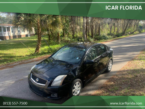 2012 Nissan Sentra for sale at ICar Florida in Lutz FL