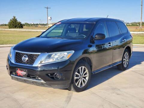 2013 Nissan Pathfinder for sale at Chihuahua Auto Sales in Perryton TX