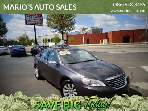 2014 Chrysler 200 for sale at MARIO'S AUTO SALES in Mount Clemens MI