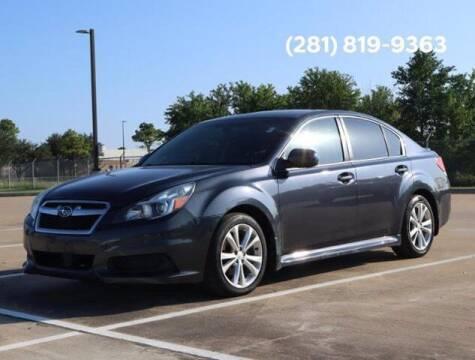 2013 Subaru Legacy for sale at BIG STAR HYUNDAI in Houston TX