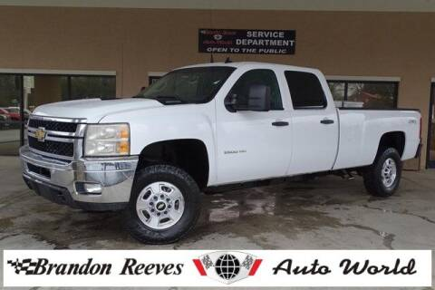2014 Chevrolet Silverado 2500HD for sale at Brandon Reeves Auto World in Monroe NC