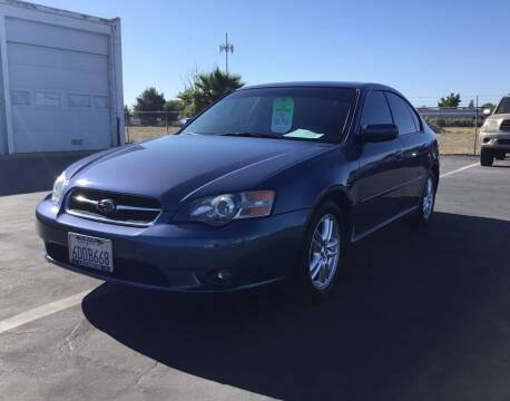 2005 Subaru Legacy for sale at My Three Sons Auto Sales in Sacramento CA