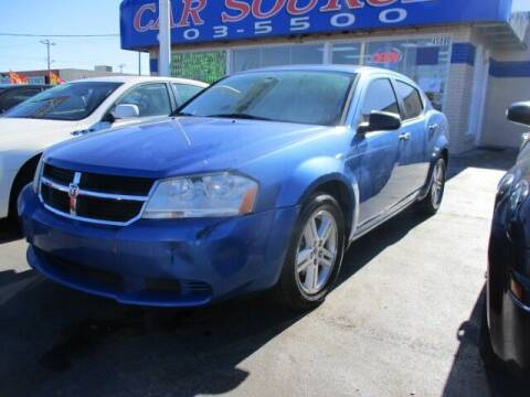 2008 Dodge Avenger for sale at CAR SOURCE OKC in Oklahoma City OK