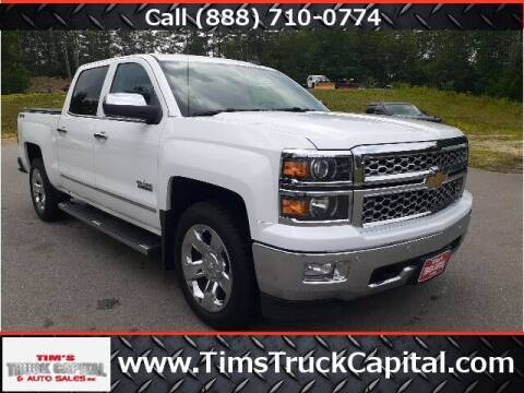 2015 Chevrolet Silverado 1500 for sale at TTC AUTO OUTLET/TIM'S TRUCK CAPITAL & AUTO SALES INC ANNEX in Epsom NH