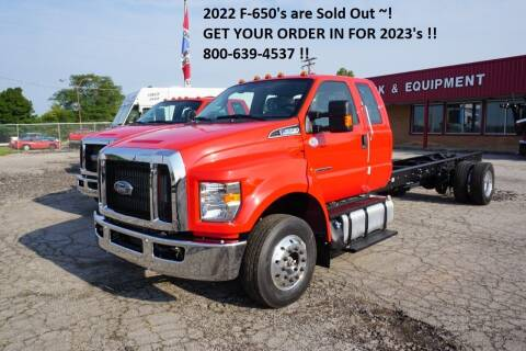 2022 Ford F-650 Super Cab for sale at Ricks Auto Sales, Inc. in Kenton OH