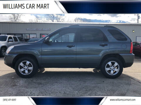 2009 Kia Sportage for sale at WILLIAMS CAR MART in Gassville AR