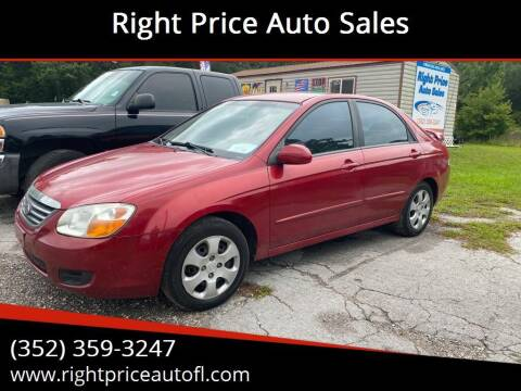 2008 Kia Spectra for sale at Right Price Auto Sales in Waldo FL