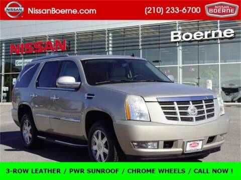 2008 Cadillac Escalade for sale at Nissan of Boerne in Boerne TX