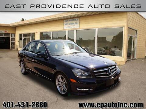 2014 Mercedes-Benz C-Class for sale at East Providence Auto Sales in East Providence RI