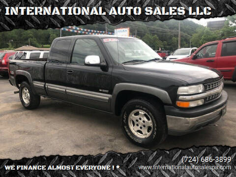 2000 Chevrolet Silverado 1500 for sale at INTERNATIONAL AUTO SALES LLC in Latrobe PA
