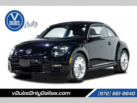 2013 Volkswagen Beetle for sale at VDUBS ONLY in Dallas TX