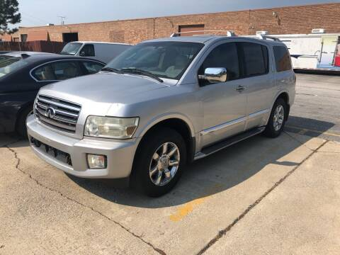 2004 Infiniti QX56 for sale at Cargo Vans of Chicago LLC in Mokena IL