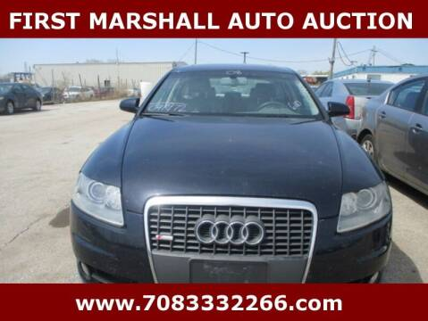 2008 Audi A6 for sale at First Marshall Auto Auction in Harvey IL