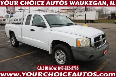 2006 Dodge Dakota for sale at Your Choice Autos - Waukegan in Waukegan IL