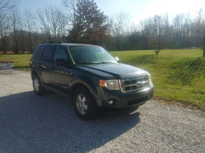 2008 Ford Escape for sale at Doyle's Auto Sales and Service in North Vernon IN