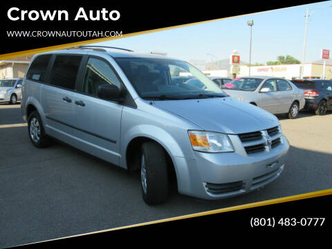 2008 Dodge Grand Caravan for sale at Crown Auto in South Salt Lake City UT