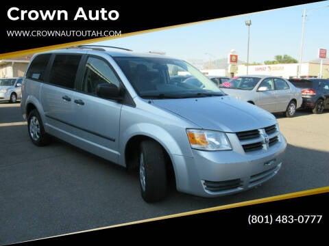 2008 Dodge Grand Caravan for sale at Crown Auto in South Salt Lake City UT