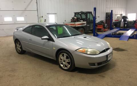 2002 Mercury Cougar for sale at TRUCK & AUTO SALVAGE in Valley City ND