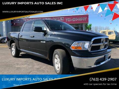 2009 Dodge Ram Pickup 1500 for sale at LUXURY IMPORTS AUTO SALES INC in North Branch MN