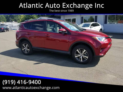 2018 Toyota RAV4 for sale at Atlantic Auto Exchange Inc in Durham NC