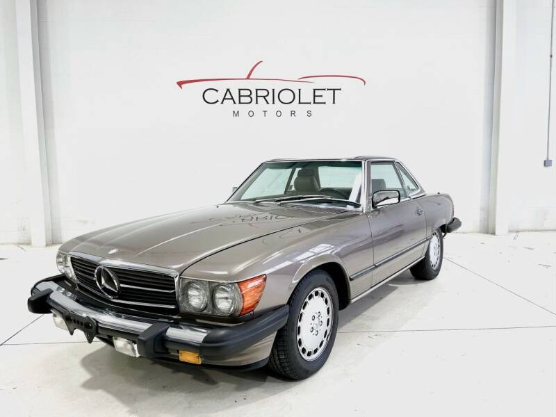 1988 Mercedes-Benz 560-Class for sale at Cabriolet Motors in Morrisville NC