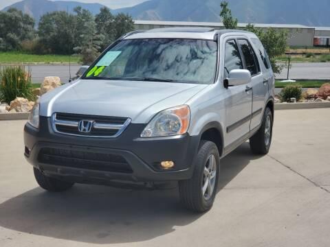 2004 Honda CR-V for sale at FRESH TREAD AUTO LLC in Springville UT