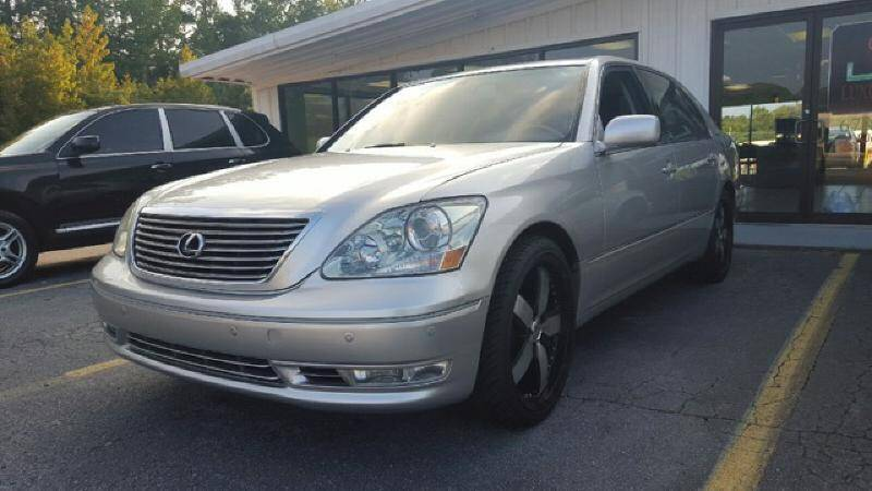 2005 Lexus LS 430 for sale at Luxury Auto Line in Atlanta GA