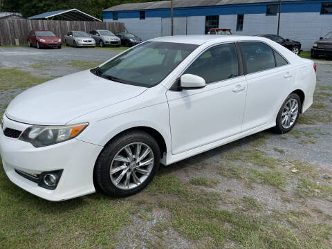 2012 Toyota Camry for sale at LAURINBURG AUTO SALES in Laurinburg NC