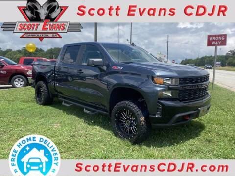 2021 Chevrolet Silverado 1500 for sale at SCOTT EVANS CHRYSLER DODGE in Carrollton GA
