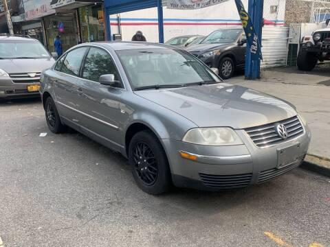 2003 Volkswagen Passat for sale at MOUNT EDEN MOTORS INC in Bronx NY