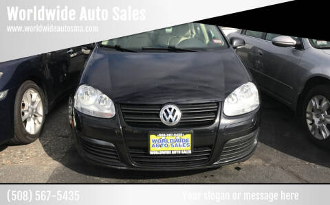 2010 Volkswagen Jetta for sale at Worldwide Auto Sales in Fall River MA