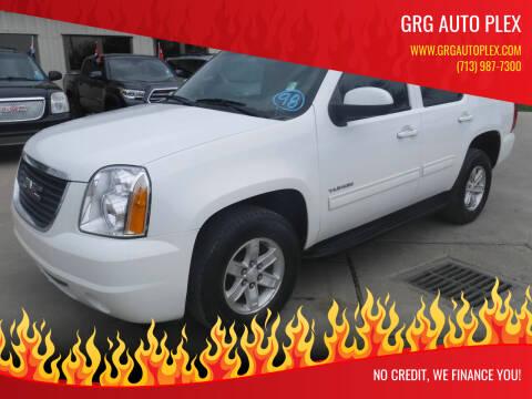 2012 GMC Yukon for sale at GRG Auto Plex in Houston TX