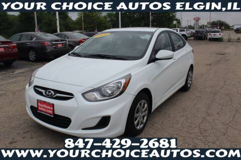 2014 Hyundai Accent for sale at Your Choice Autos - Elgin in Elgin IL